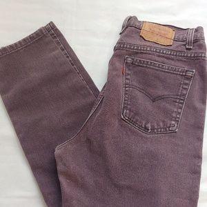 Vintage purple Levi's
